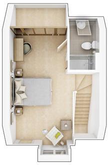 Alton - Second Floor Plan