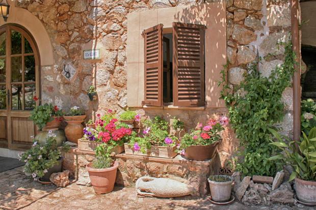 Detail garden