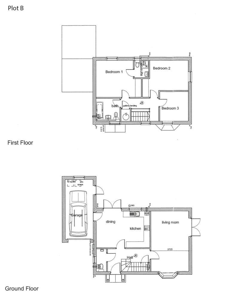 Floor Plan Plot B