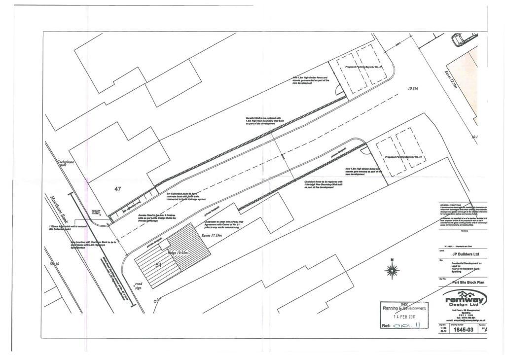 Part Site Block Plan