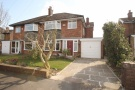 3 bed semi detached house in Goodwood Crescent...