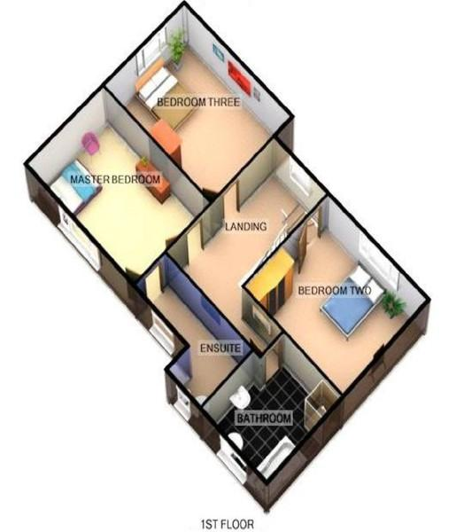 FLOORPLANS  FIRST FLOOR