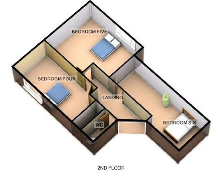 FLOORPLANS  SECOND FLOOR