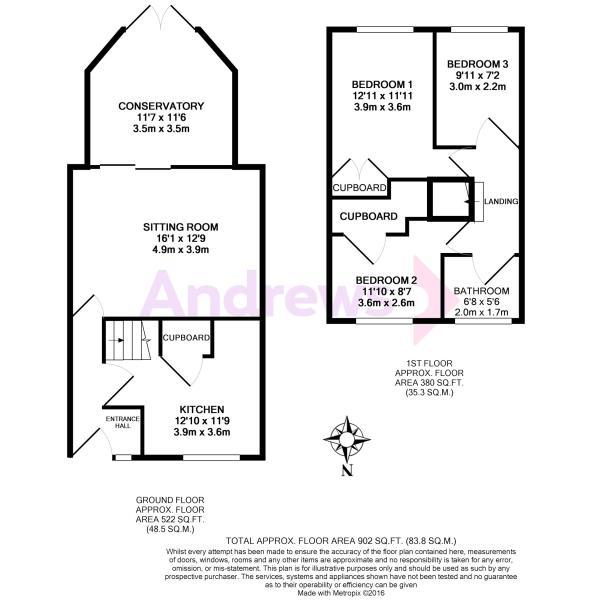 3 Walnut Drive floorplan