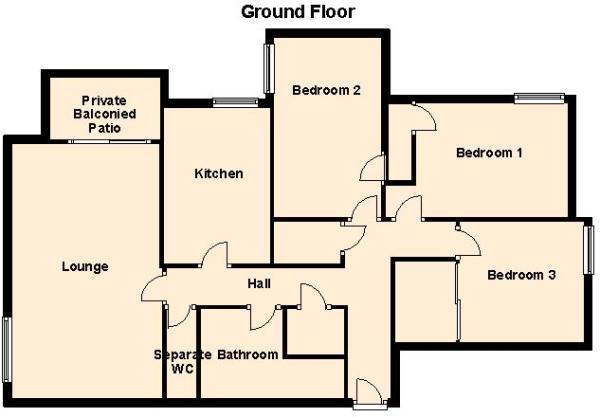 F14 Stoneleigh Court - Ground Floor