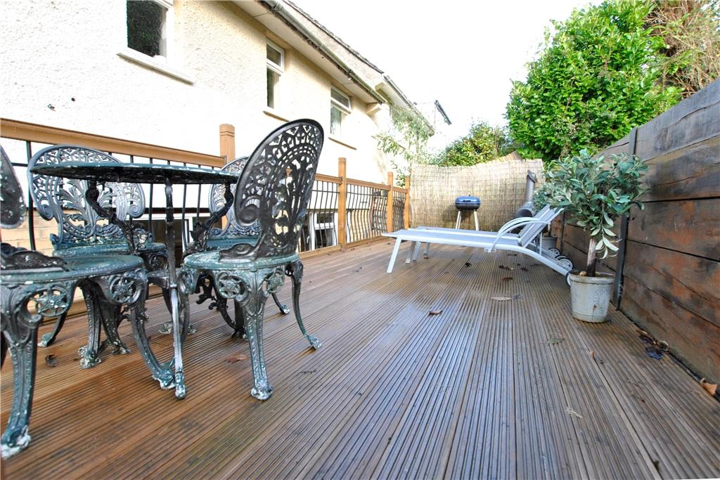 Deck to rear