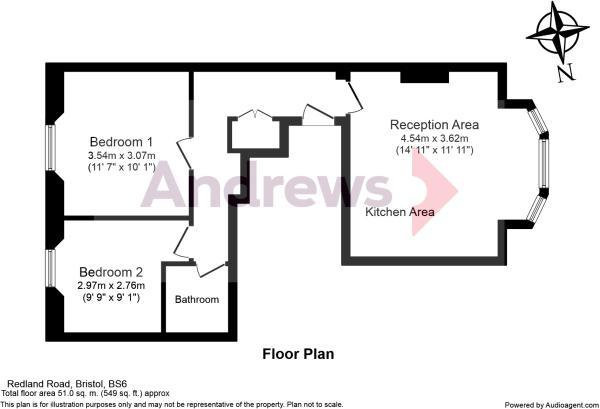 Hall Floor Flat Redland Road