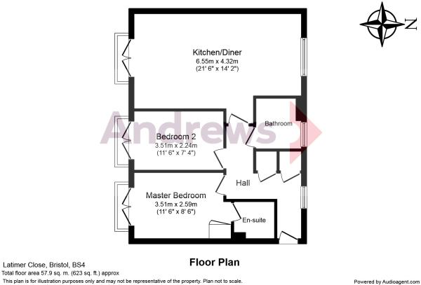 65 Latimer Close Floorplan Amended
