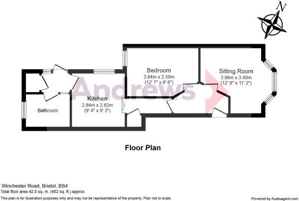 37b Winchester Road Floorplan