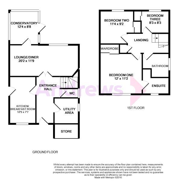 17 Upper Furlong Floorplan