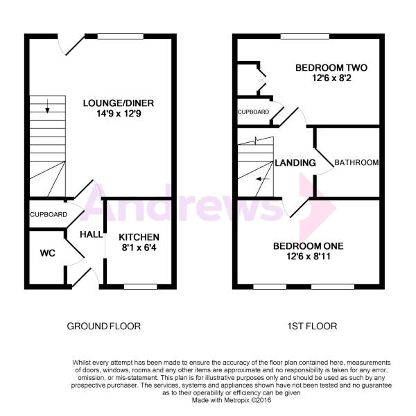 2 Angels Ground Floorplan