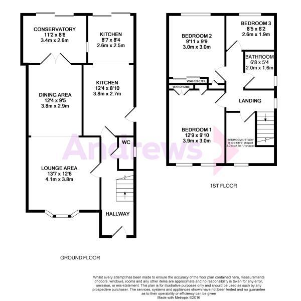 Coombe Close Floor Plan