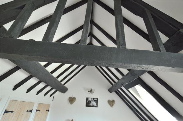 Bedroom Ceiling Beams