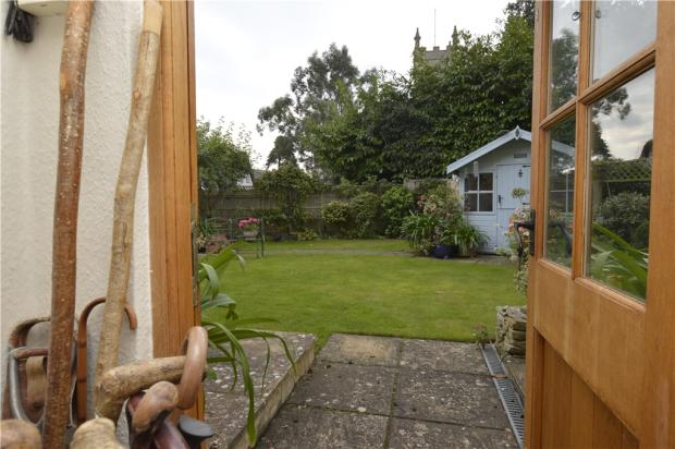 Back Door to Garden
