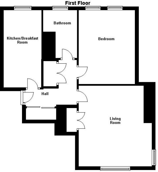 3a Charlton lawn - First Floor