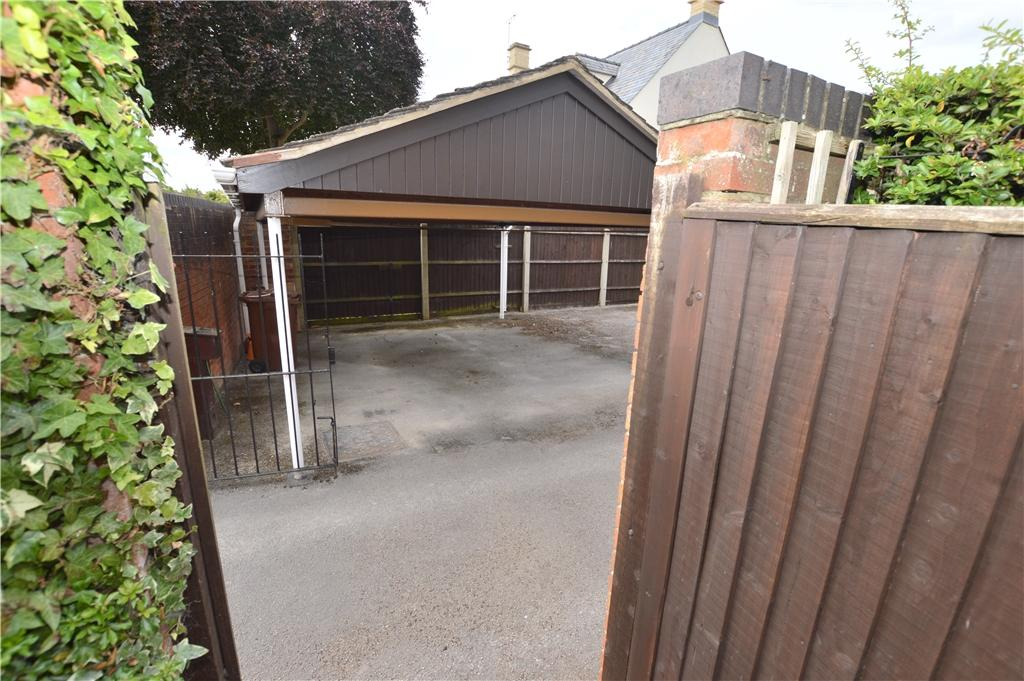 Parking (just out the rear gate)