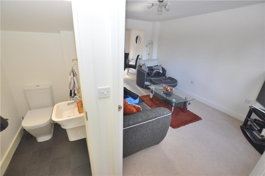 Hall to cloakroom