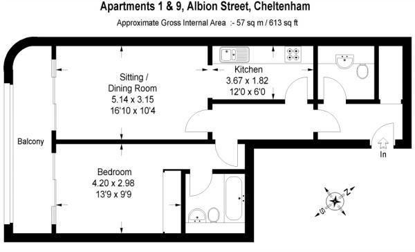 Floorplan 1 & 9