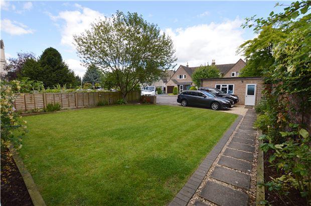 Front Garden, Parking & Garage