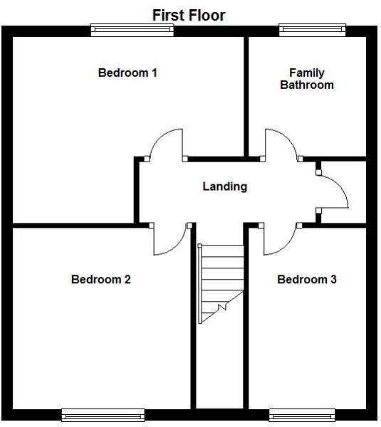 8 Deans Walk - First Floor