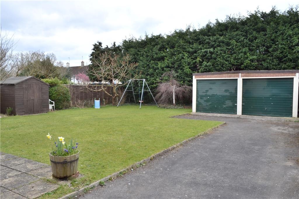 Rear Garden and Double Garage