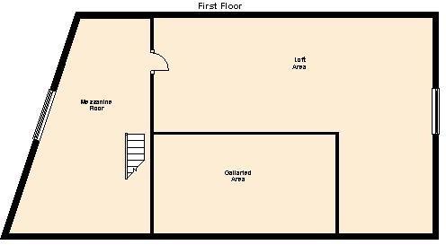 Mezzanine Floor and Loft Area