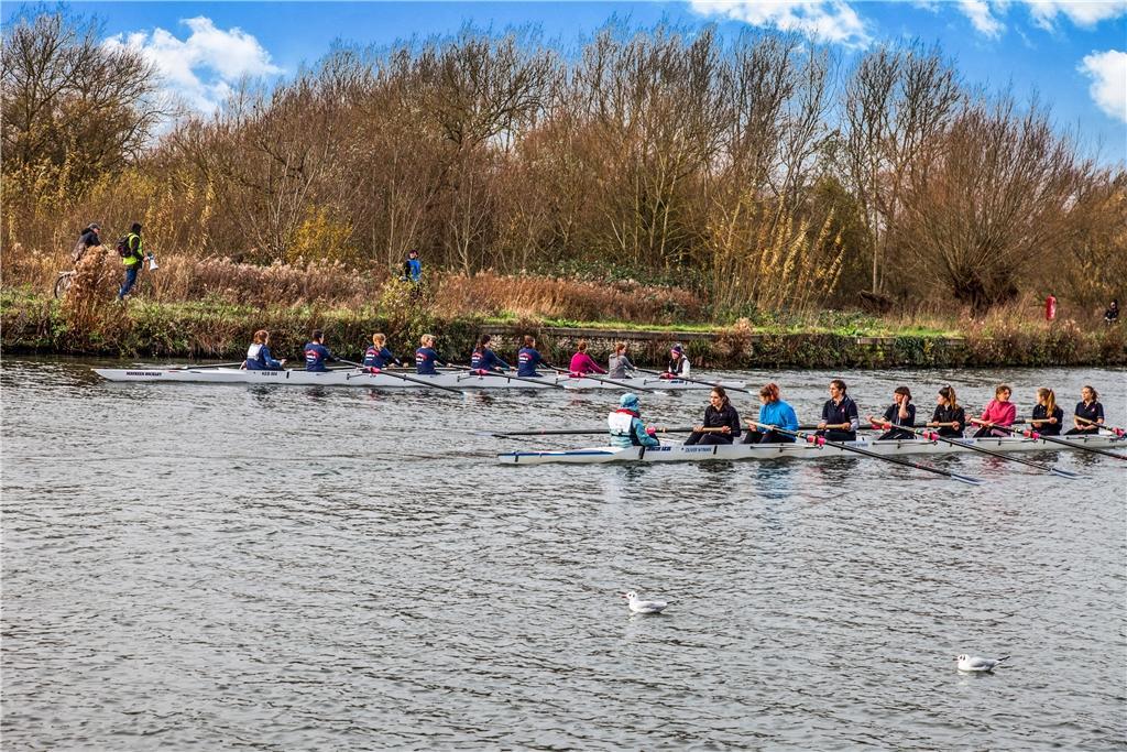 Rowing at Donnington Bridge