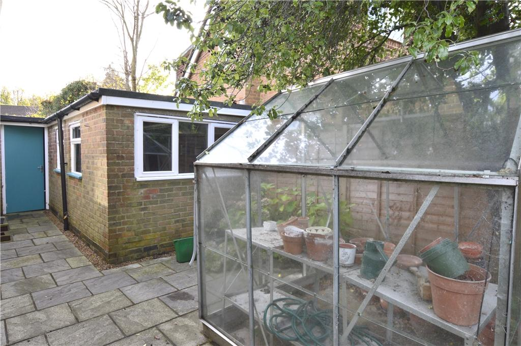 Greenhouse and Garage