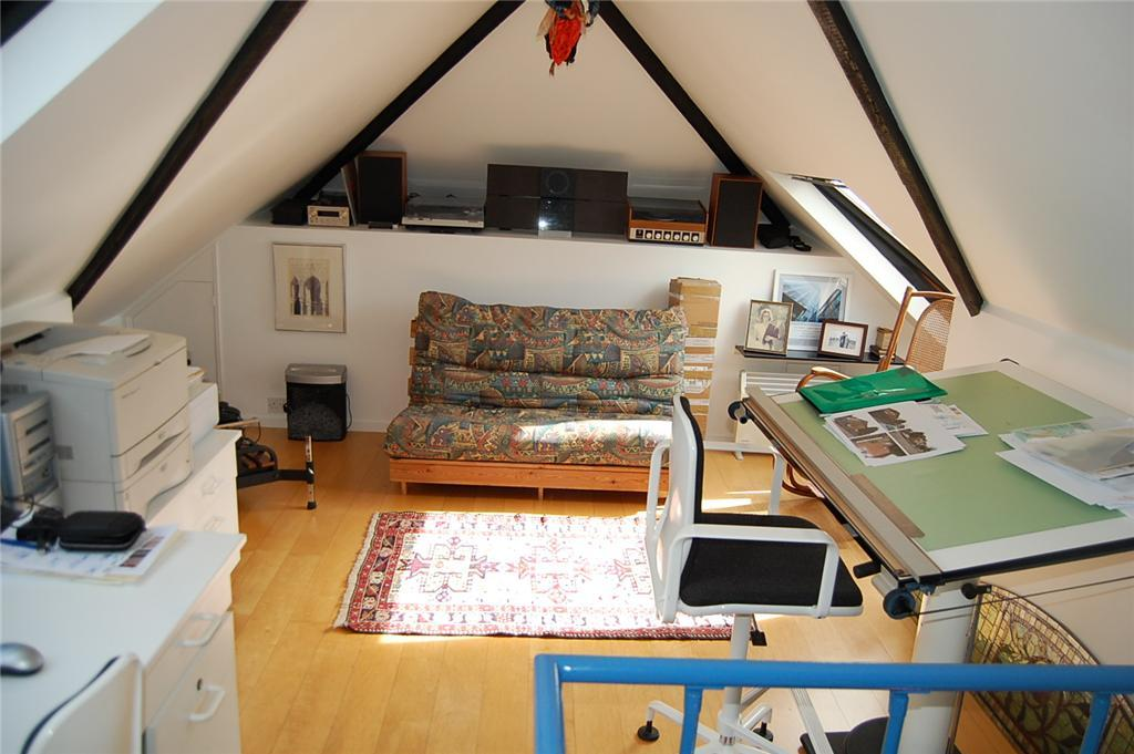 Loft Space Currently Used As Study