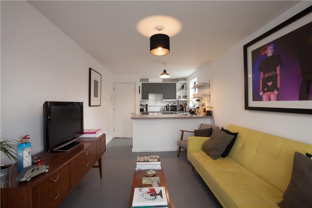 Reception/Kitchen Area