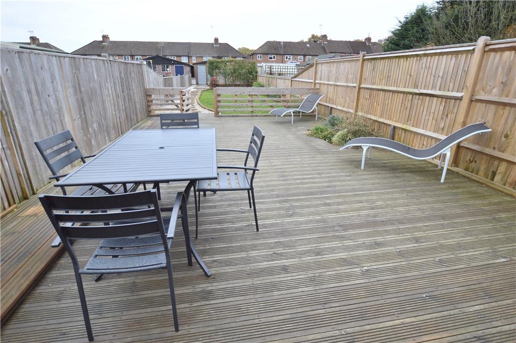 Decked Rear Terrace