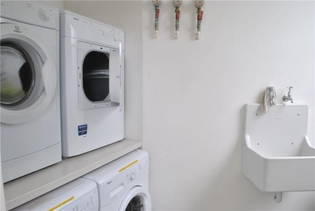 Residents wash room
