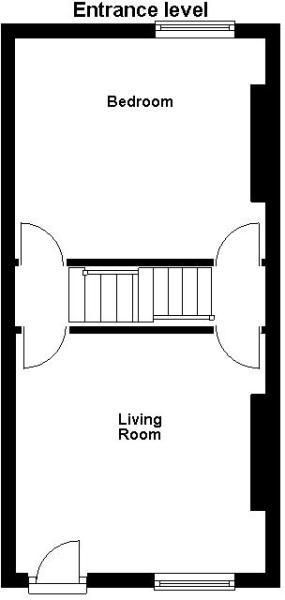 Kirkdale Road - Entrance level