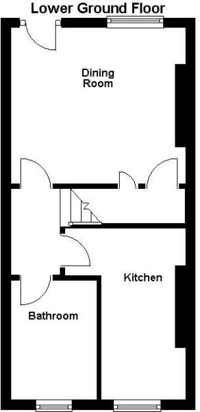 Kirkdale Road - Lower Ground Floor