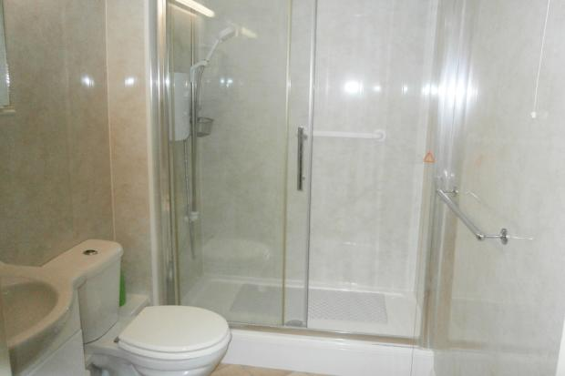 Re-fittedShower room