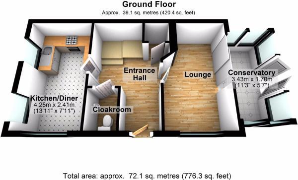 Ground Floor - 48 AR