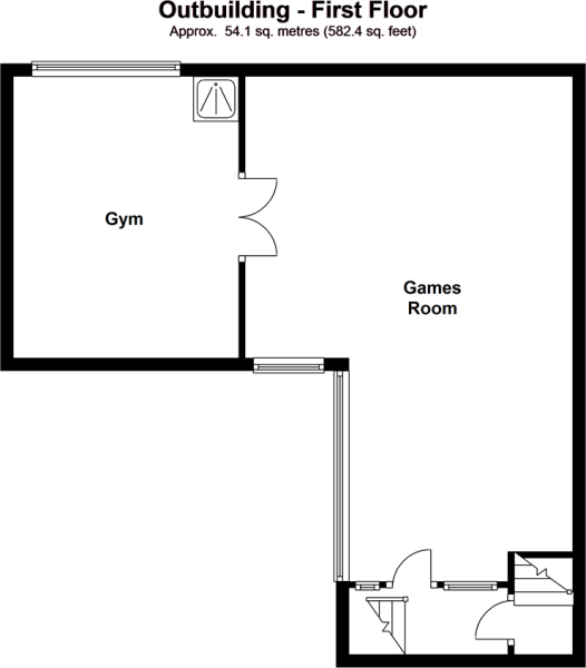 Outbuilding - First Floor