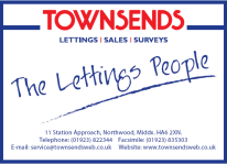Townsends Lettings, Northwood