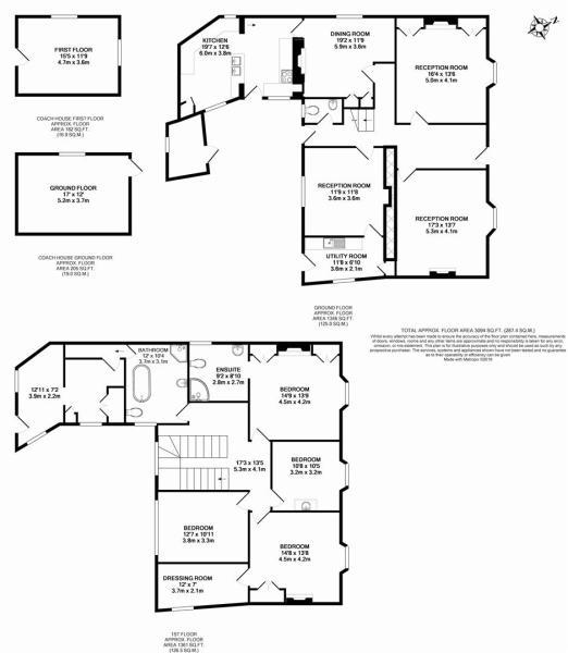 Penwyn House Floorpl