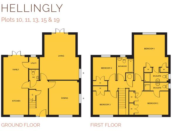 Hellingly Floor Plan