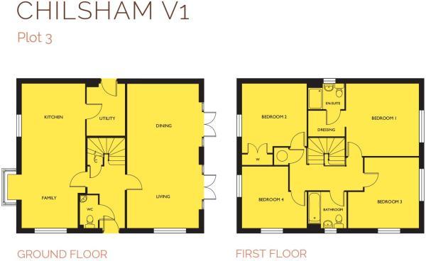 Chilsham V1 Floor Pl