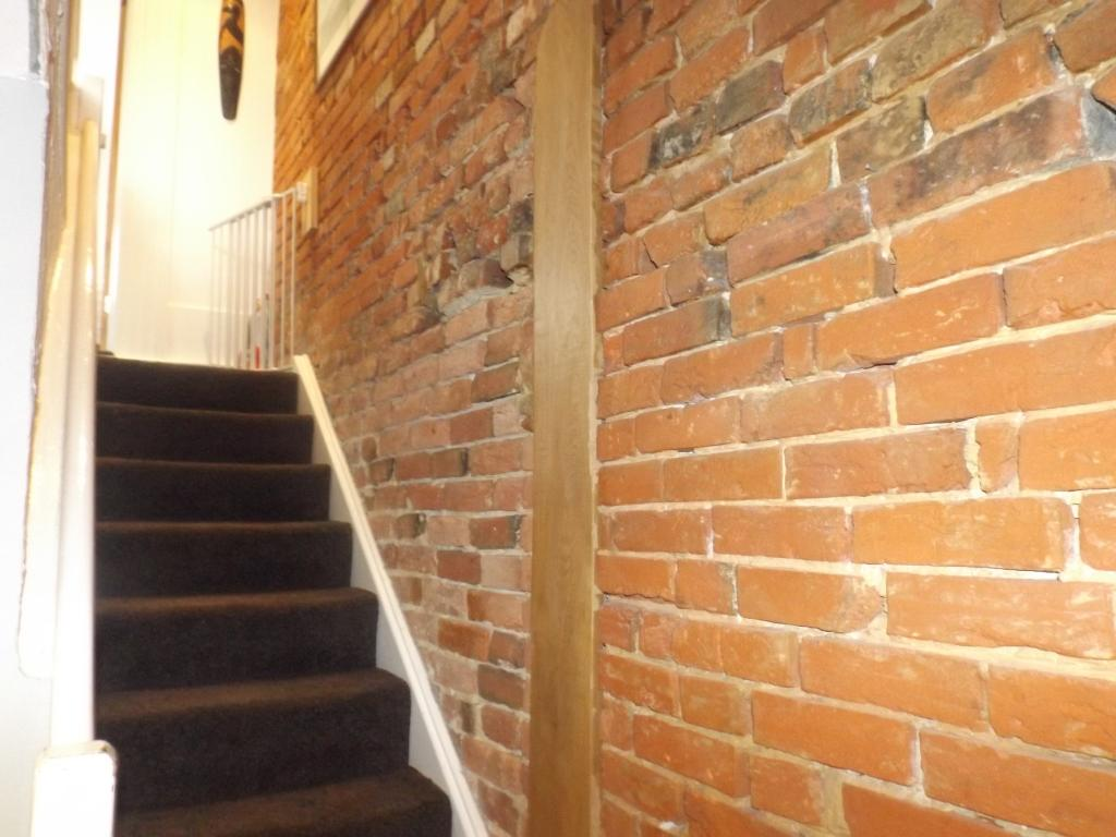 Bare Brick Wall