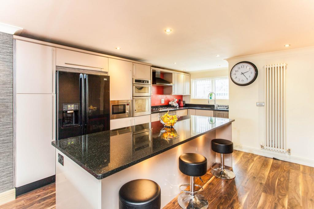 Kitchen and Living A