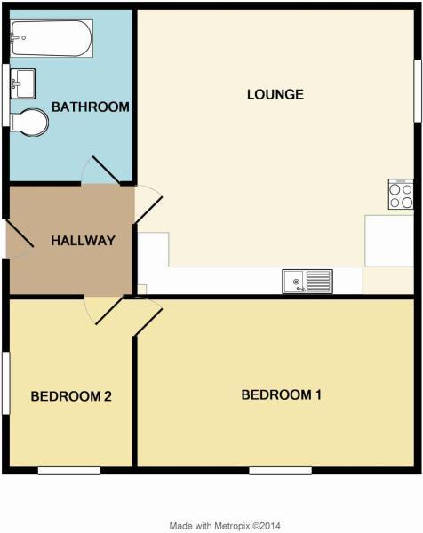 Floorplan Flat 5
