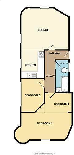 Floorplan Flat 4