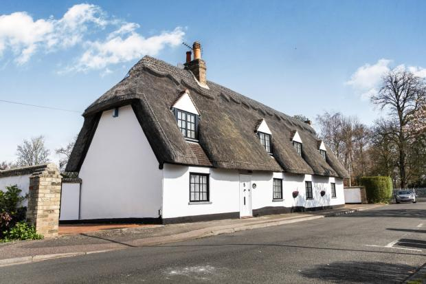Pretty Thatched Cott