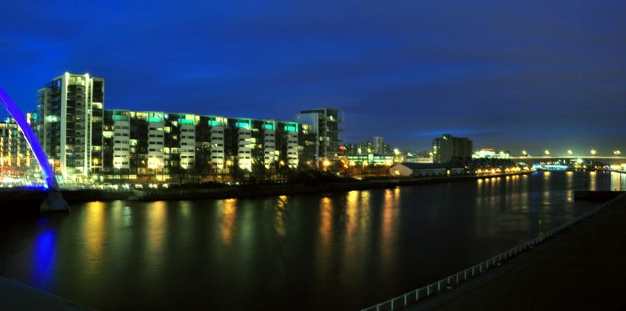 River At Night