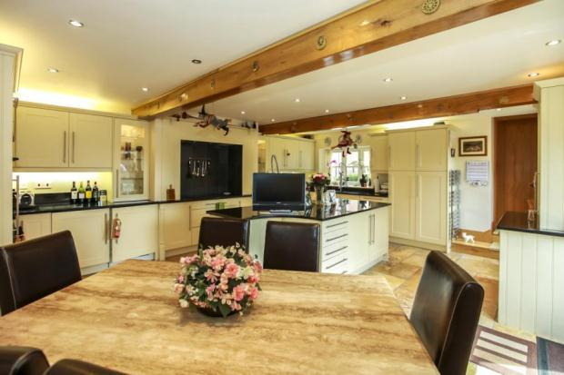 4 Bedroom Barn Conversion For Sale In Castle View