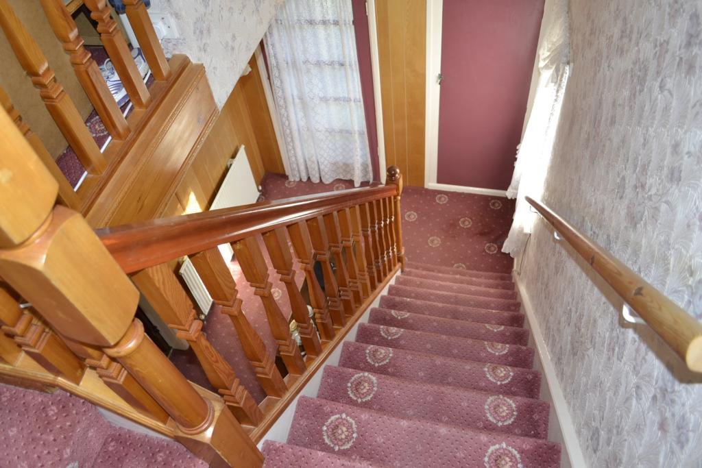 Hall, stairs & landi