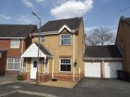 Link Detached House for sale in Bren Way, Hilton, Derby...
